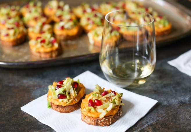 butternut-squash-crostini-wtih-brussels-sprouts-and-pomegranate-7