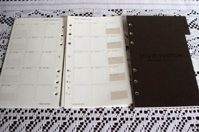 Louis Vuitton 2014 Agenda and Refill Review