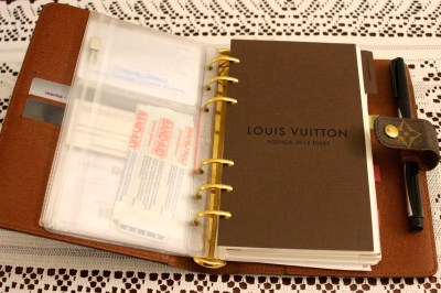 Louis Vuitton Agenda and Louis Vuitton 2014 Refills Review