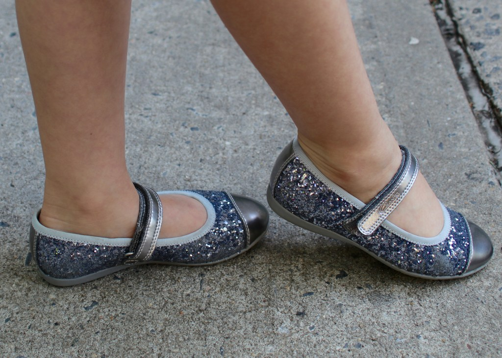 Clarks Glitter Girl Shoes