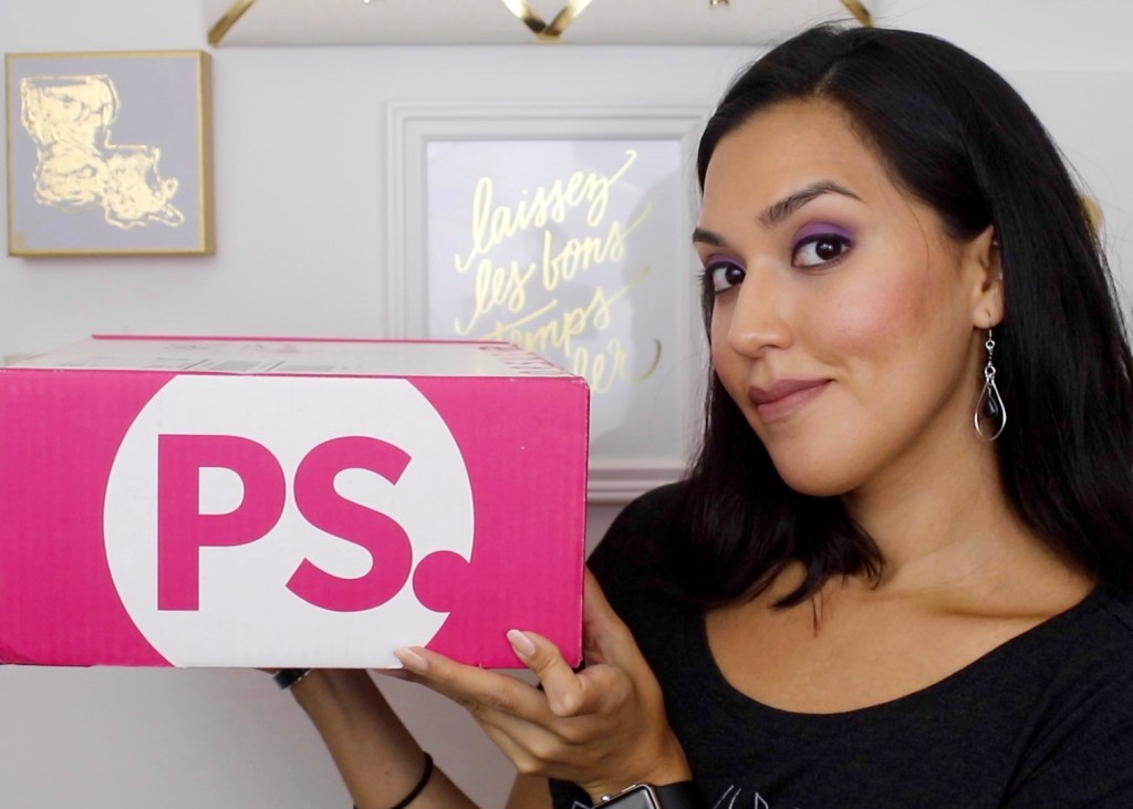 pop sugar must have september box unboxing