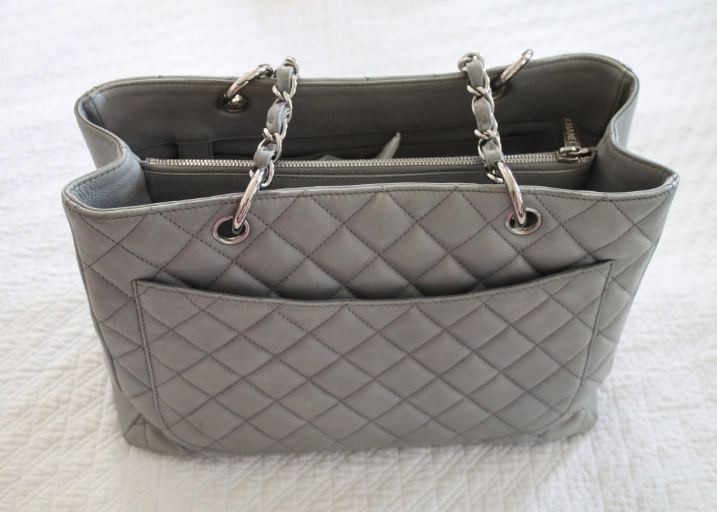 Light Gray Grand Shopping Tote