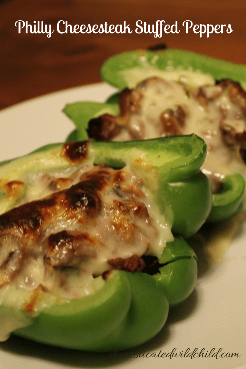 Philly Cheesesteak Stuffed Peppers-2
