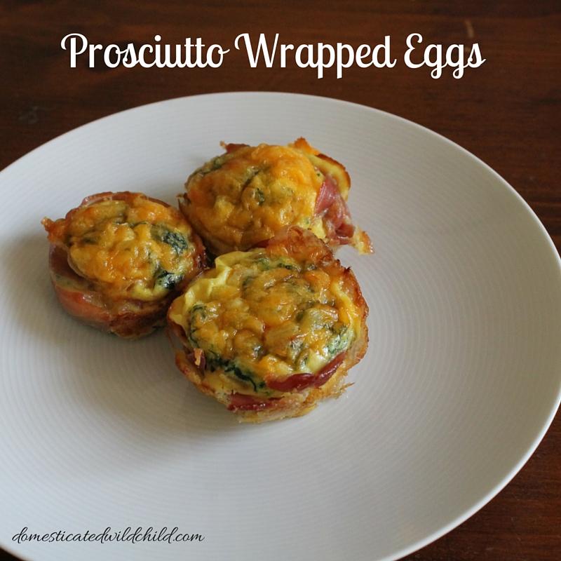 Prosciutto Wrapped Eggs