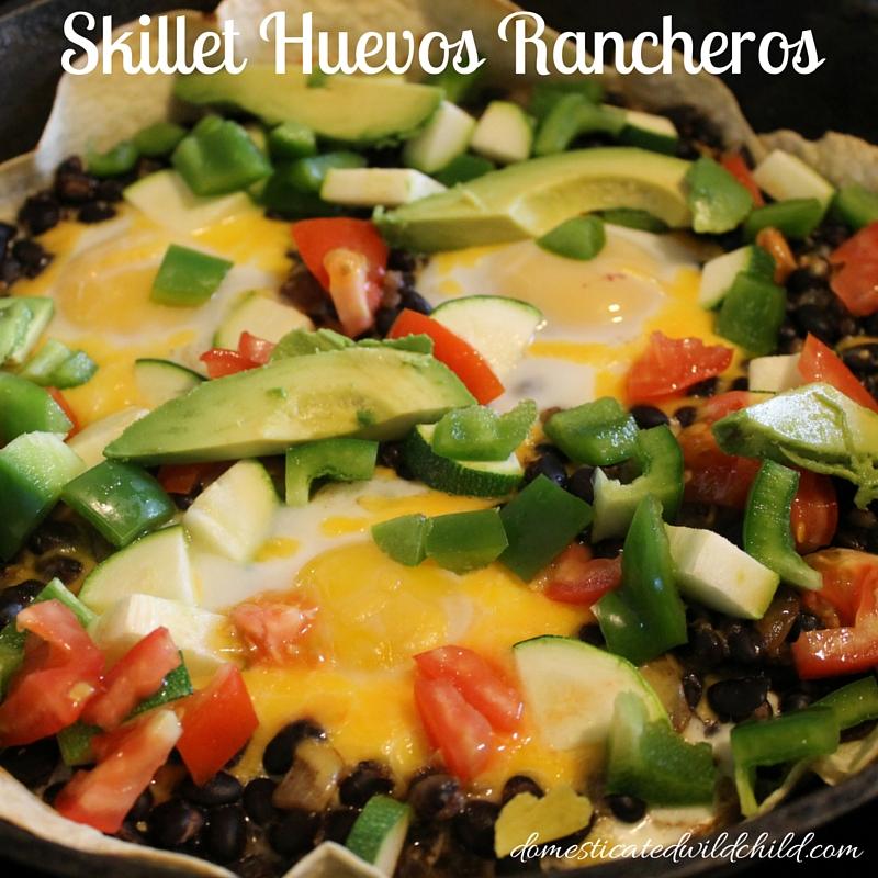 Skillet Huevos Rancheros