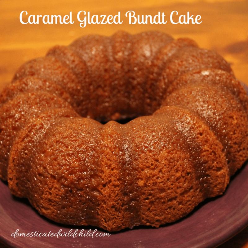 Caramel Glazed Bundt Cake