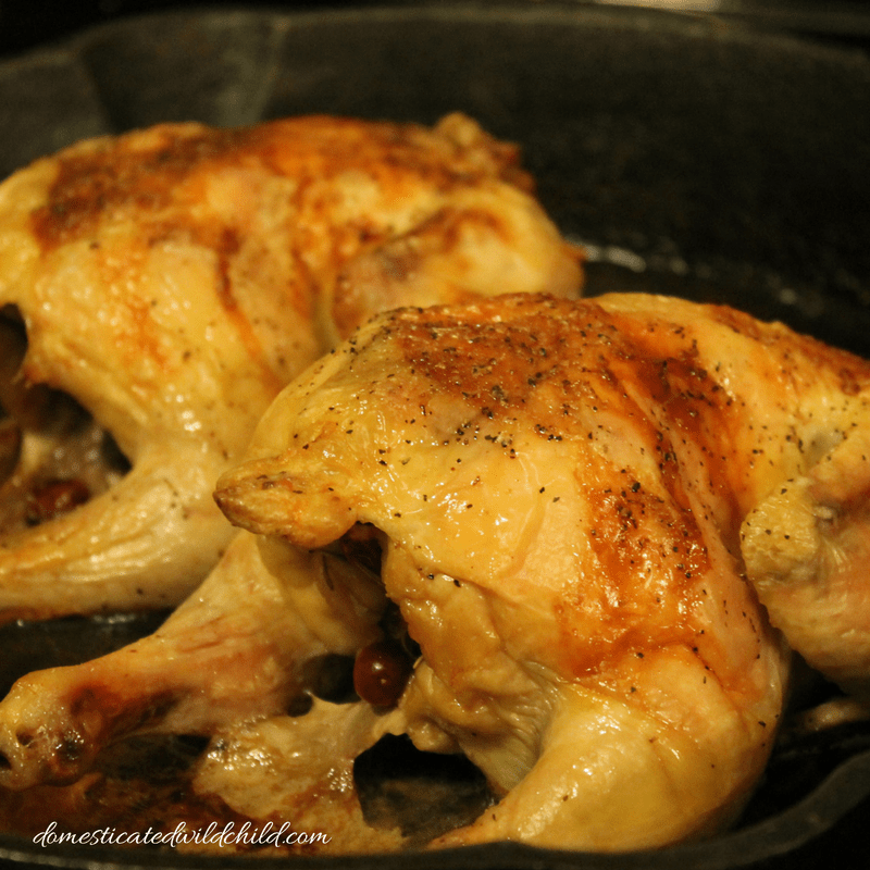 Stuffed Cornish Game Hens