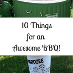 10 Things for an Awesome BBQ!
