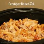 Crockpot Baked Ziti