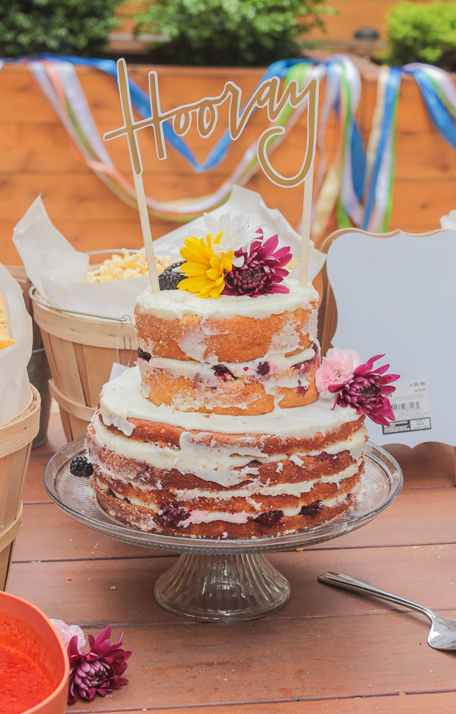 Spring Layer Cake