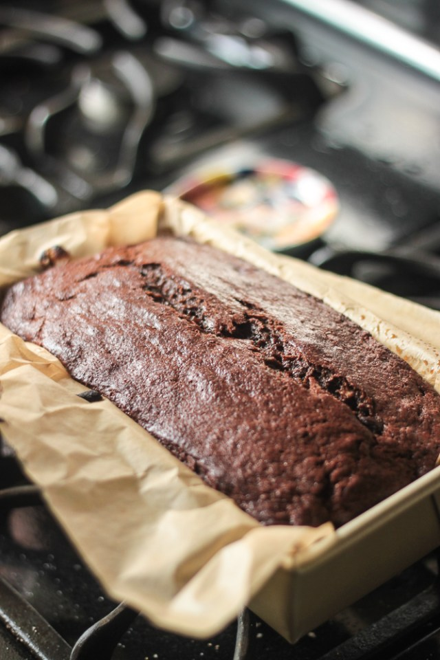 Salted Caramel Chocolate Banana Bread | Domestic B(i)atch