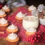 Holiday Egg Nog Cupcakes
