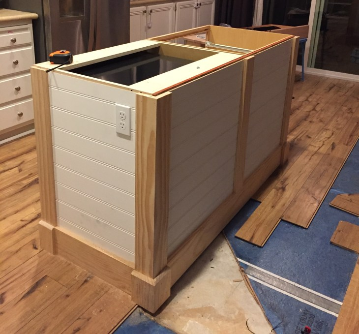 making kitchen island a diy kitchen island make it yourself and save big 8293