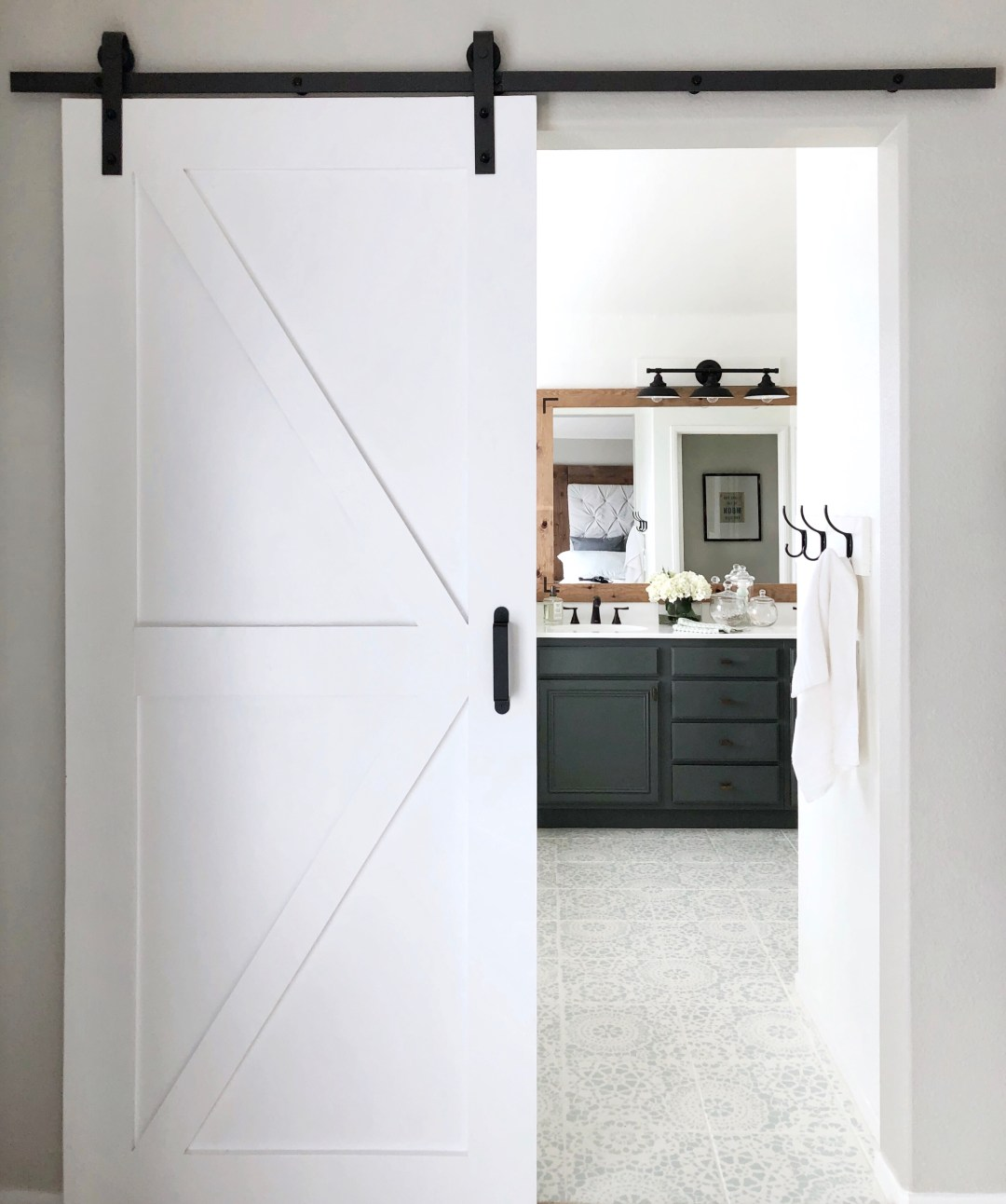 Surprisingly Simple Barn Door Diy Project Domestic Blonde
