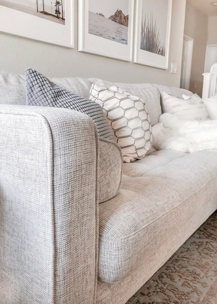 10 Neutral Floor Poufs For Every Style