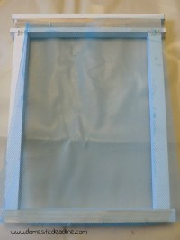 Window Screen Earring Holder