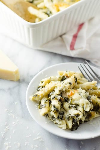 Chicken Spinach Pasta
