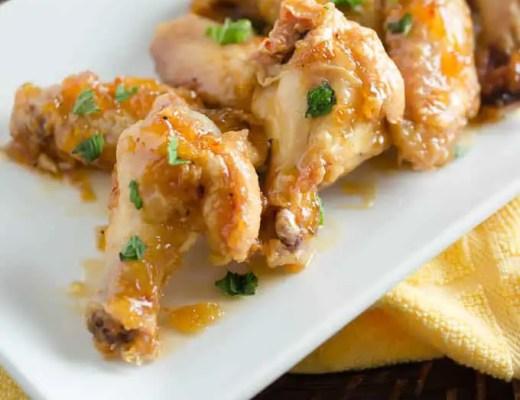 Crispy Baked Pineapple Chicken Wings