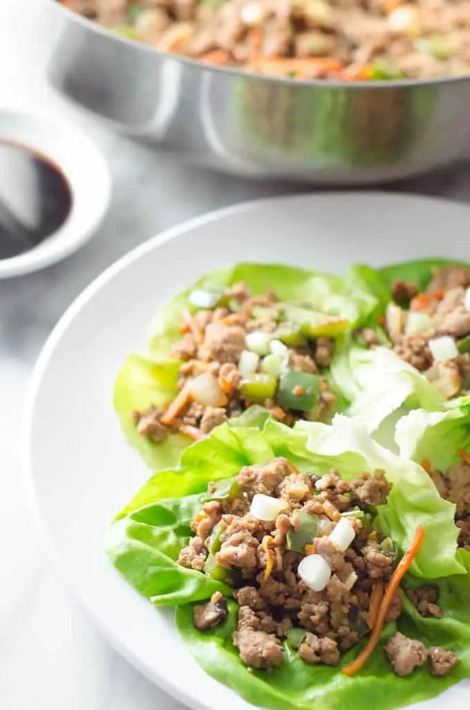 Turkey Lettuce Wraps