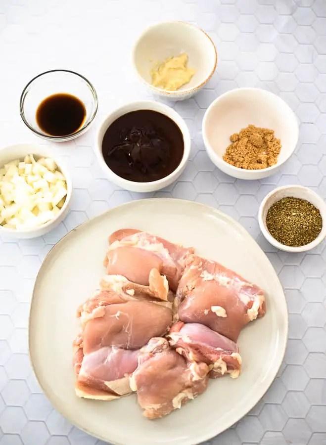 BBQ pulled Chicken ingredients