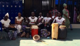A traditional Nigerian group