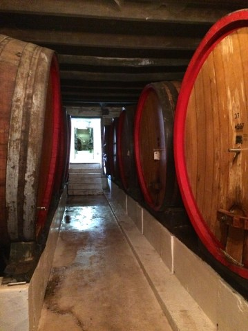 Sweet barrels of wine