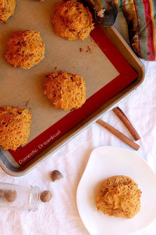 Sweet Potato Drop Biscuits