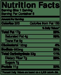 Chickpea salad nutrition info