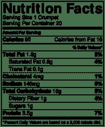 Crumpet nutrition info