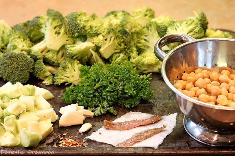 Pan Roasted Broccoli Ingredients