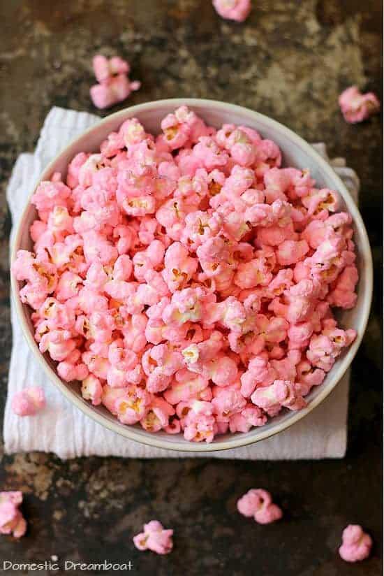 Old Fashioned Pink Popcorn Gf Vegetarian Domestic Dreamboat