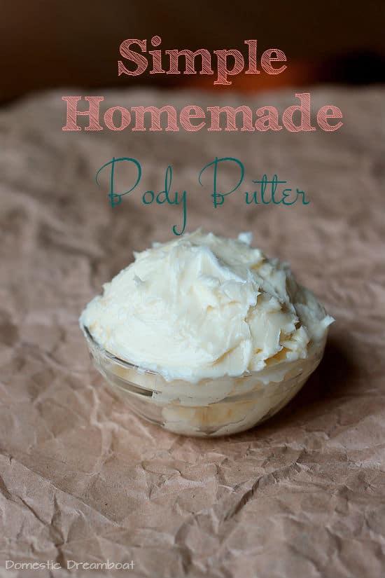 Simple Homemade Body Butter