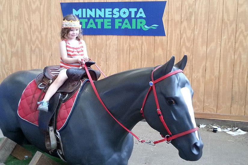State fair horse