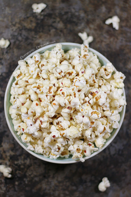 Anchovy Butter Popcorn with Chili Flakes - a great snack ...