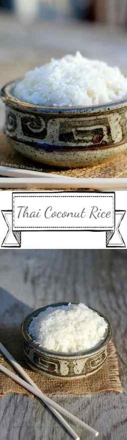 Thai Coconut Rice - Domestic Dreamboat