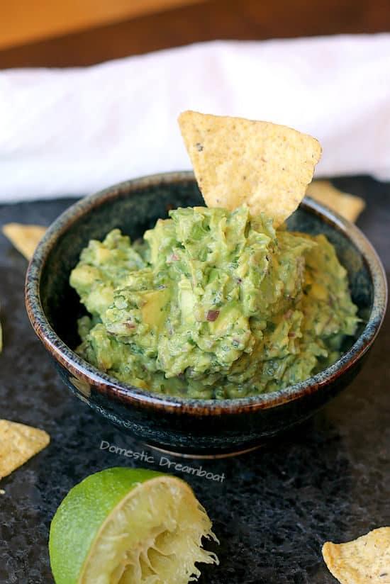 Chunky Small Batch Guacamole