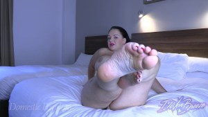 Summoned for Foot Worship 04 300x169 - Summoned for Topless Foot Worship