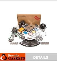 fits 02 03 dodge dakota durango ram 1500 4 7 master overhaul engine rebuild kit [ 2048 x 2048 Pixel ]