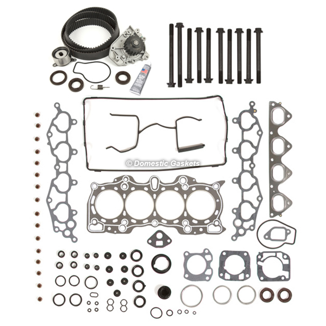 Head Gasket Set Timing Belt Kit Water Pump Fit 96-01 Acura