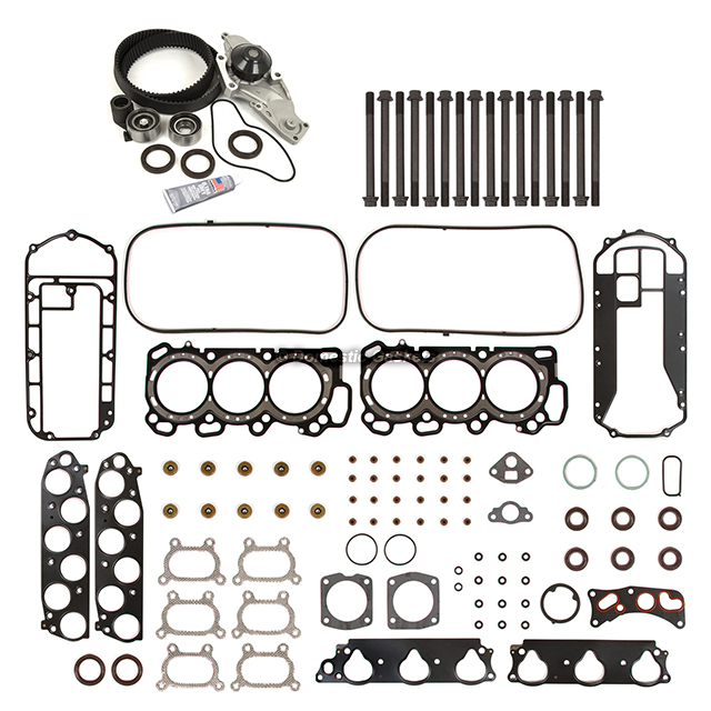 Head Gasket Set Timing Belt Kit Water Pump Fit 03-05 Acura