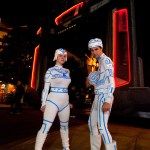 TRON Cosplay at Disney's California Adventure elecTRONica