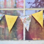 DIY Fabric Pennant Banner Tutorial