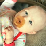 My Little Tessa Modeling For EcoPacifier!