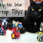Geeky No Sew Catnip Toys