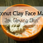 Coconut Clay Face Mask for Glowing Skin