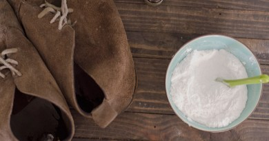 ​Freshen Up Your Shoes with Homemade Deodorizing Powder