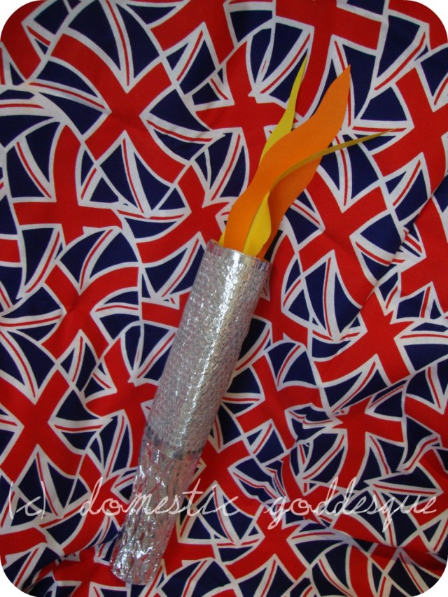easy home made Olympic Torch