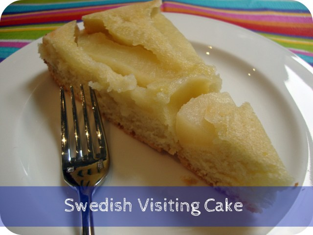 How to make Swedish Visiting Cake