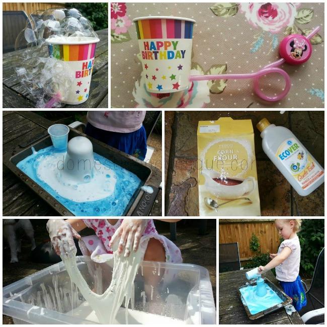 bubble activities