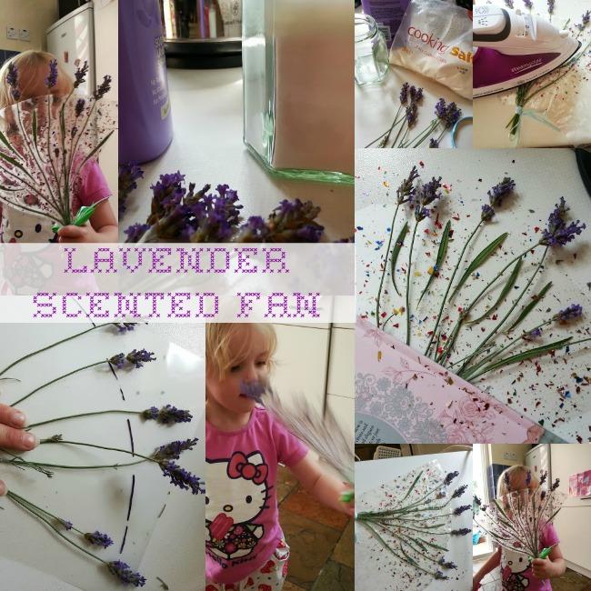 Scented Lavender Fan Tutorial